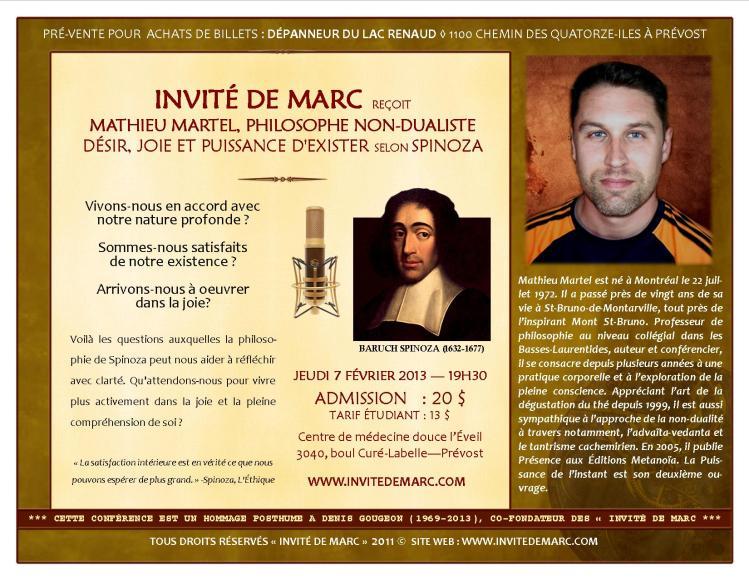 INVITÉ DE MARC FEV 2013